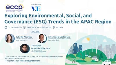 Exploring Environmental, Social, and Governance (ESG) Trends in the APAC Region