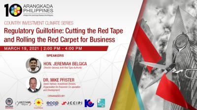 Regulatory Guillotine: Cutting the Red Tape and Rolling the Red Carpet for Business