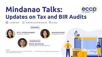 Mindanao Talks: Updates on Tax and BIR Audit