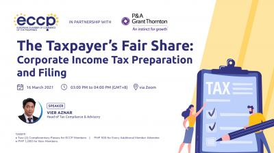 The Taxpayer's Fair Share: Corporate Income Tax Preparation and Filing