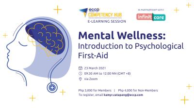Mental Wellness: Introduction to Psychological First Aid