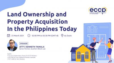 Land Ownership and Property Acquisition in the Philippines Today