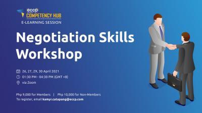 Negotiation Skills Workshop (4-Part Virtual Training)