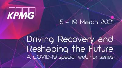 Driving Recovery and Reshaping the Future A COVID-19 special webinar series