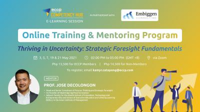 Online Training & Mentoring | Thriving in Uncertainty: Strategic Foresight Fundamentals