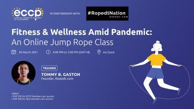 Fitness & Wellness Amid Pandemic: An Online Jump Rope Class