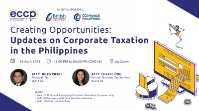 Creating Opportunities: Updates on Corporate Taxation in the Philippines