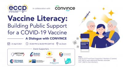 Vaccine Literacy: Building Public Support for COVID-19 Vaccine