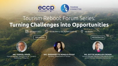 Tourism Reboot Forum Series: Turning Challenges into Opportunities