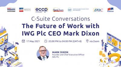 C-Suite Conversations: The Future of Work with IWG Plc CEO Mark Dixon