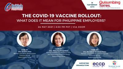 The COVID-19 Vaccine Rollout: What does it mean for Philippine employers?
