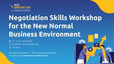 Negotiation Skills Workshop for the New Normal Business Environment