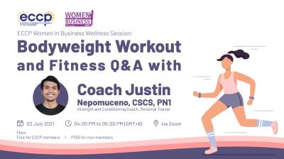Bodyweight Workout and Fitness Q&A with Coach Justin Nepomuceno