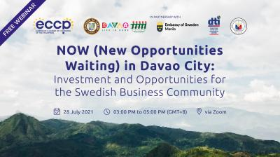 NOW in DAVAO: Investment and Opportunities for the Swedish Businesses