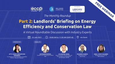 Landlords' Briefing on Energy Efficiency and Conservation Law Part 2