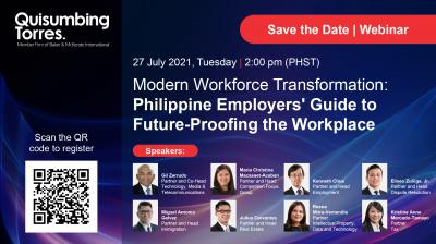 Webinar Invitation: Modern Workforce Transformation: Philippine Employers' Guide to Future-Proofing the Workplace