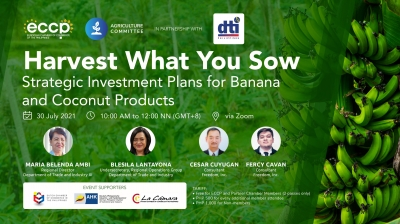 Harvest What You Sow: Strategic Investment Plans for Banana and Coconut products