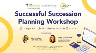 Successful Succession Planning Workshop