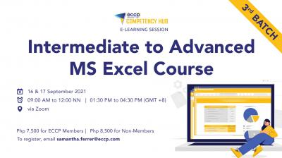 Intermediate to Advanced MS Excel Online Course (3rd Batch)