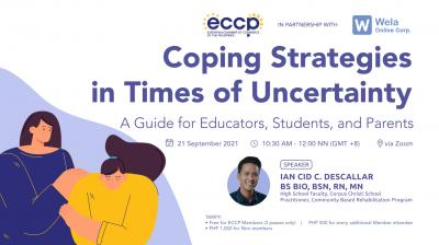 Coping Strategies In Times of Uncertainty: A Guide for Educators, Students and Parents