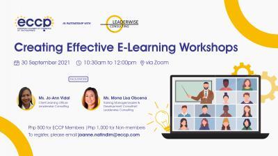 Creating Effective e-Learning Workshops