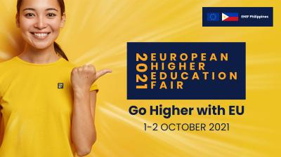 Virtual European Higher Education Fair 2021 offers Filipino Youth the Chance to Go Higher