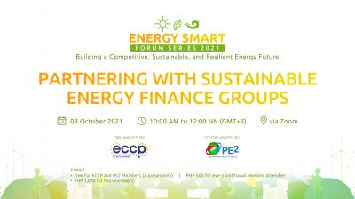 Partnering with Sustainable Energy Finance Groups