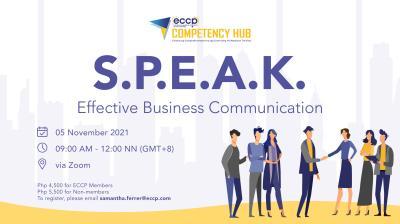 S.P.E.A.K.: Effective Business Communication