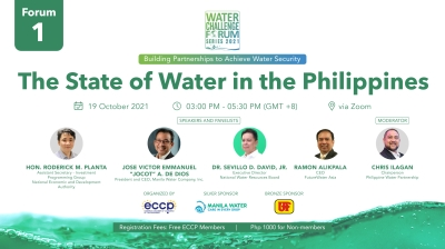 WCF 2021 Series: The State of Water in the Philippines